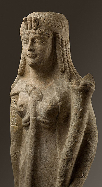[ Statue of a Ptolemaic Queen, perhaps Cleopatra VII MET 89.2.660 ]