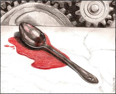 [ The Spoon, © 2008 Cécile Matthey ]