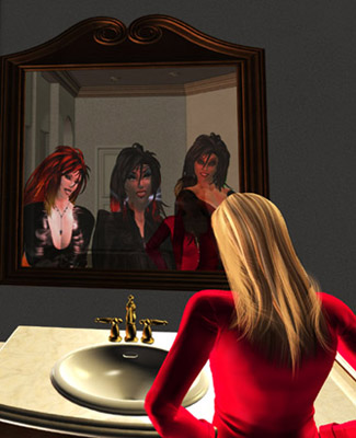 [ Mirror, © 2009 Christina Cartwright ]