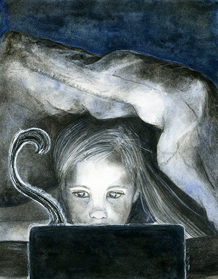 [ she lives in the internet, © 2020 Cécile Matthey ]