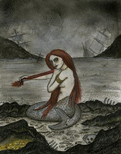 [ Mermaid © 2018 Cécile Matthey ]