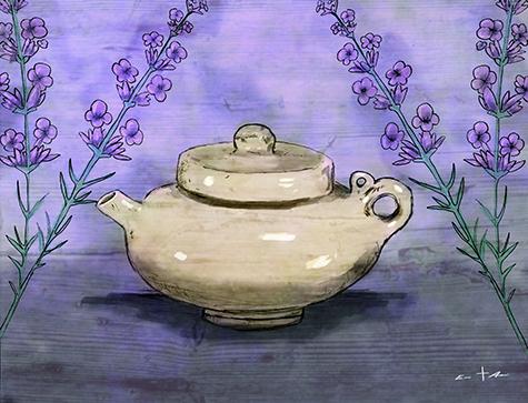 [ Teapot, © 2015, Eric Asaris ]