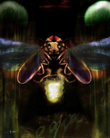 [ Lightning bug, © 2014 Eric Asaris ]