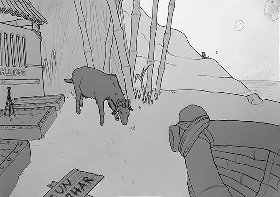 [ Loose Goat, © 2020 Fluffgar ]