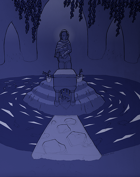 [ Shrine tomb, © 2021 Fluffgar ]