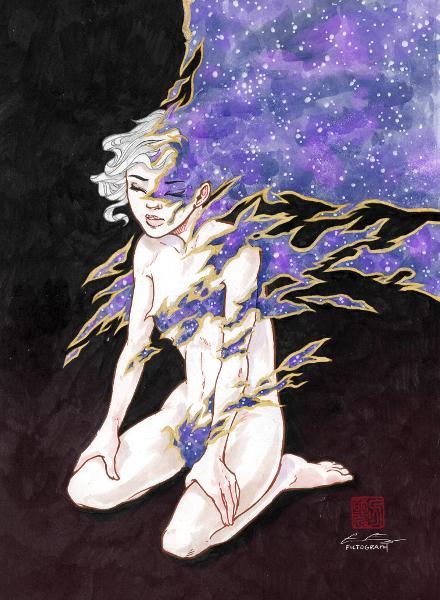 [ Pleiades, © 2020, Grace P. Fong ]