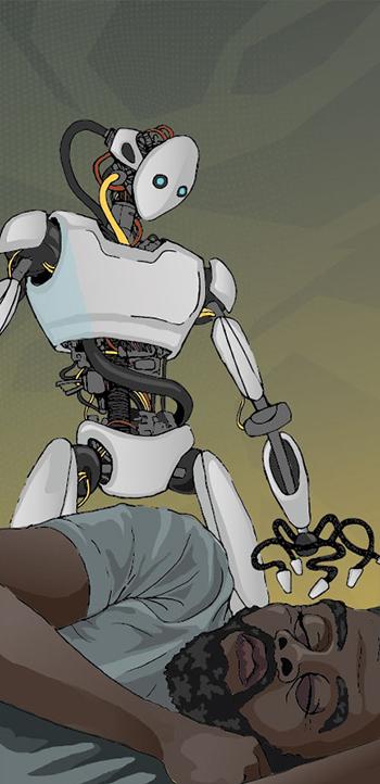 [ Robot, © 2021 Jason Baltazar ]