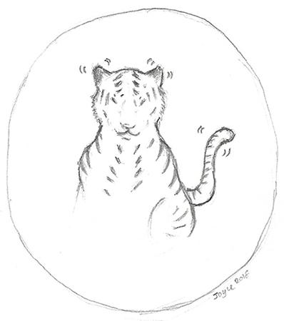 [ Tiger, © 2018 Joyce Chng ]