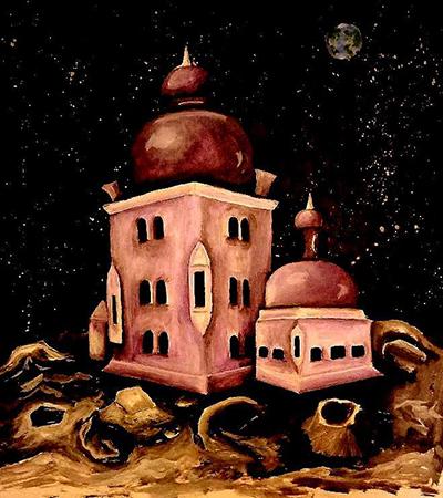 [ Moon palace, © 2019 Katharine A. Viola ]