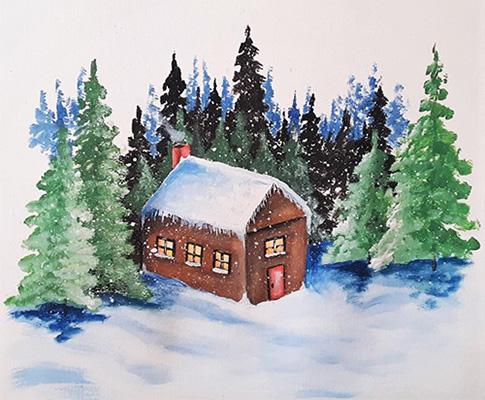 [ My cabin © 2021, Katharine A. Viola ]