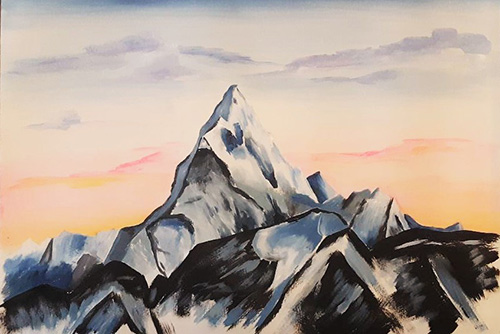 [ To summit alone © 2021, Katharine A. Viola ]