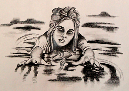 [ Drowning, © 2017 Katharine A. Viola ]