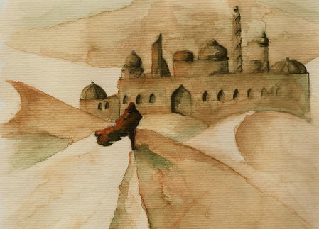 [ City of Sand, © 2012 Laura-Anca Adascalitei ]