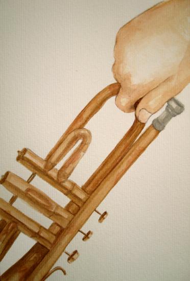 [ trumpet, © 2013 Laura Anca Adascalitei ]