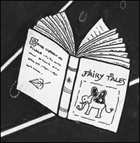 [ The fairy tale book: image © 2006 Cécile Matthey ]