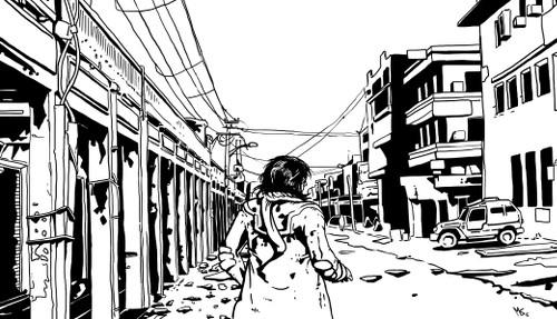 [ Street, © 2015 Miguel Santos ]
