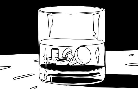 [ Ruddy drink, © 2018 Miguel Santos ]