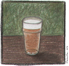 [ Pint of beer © 2007 Cécile Matthey ]