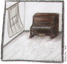 [ The Piano Room © 2007 Cécile Matthey ]