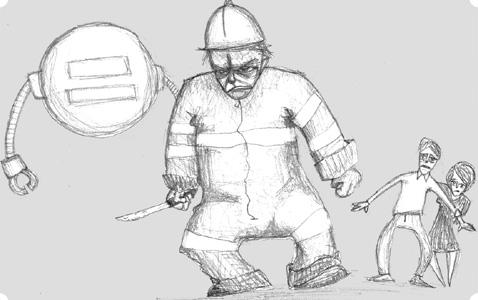 [ Sewage Worker, © 2009, Carmen ]