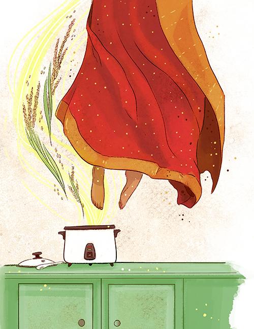 [ Rice cooker, © 2015, Robin E. Kaplan ]