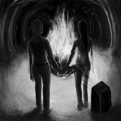 [ Cremation, © 2012 Rhiannon Rasmussen-Silverstein ]