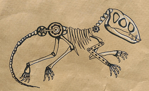 [ The bones first, © 2021 Valeria Vitale ]