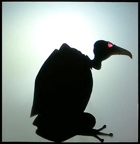 [ Frog-vulture, © 2019 Valeria Vitale ]