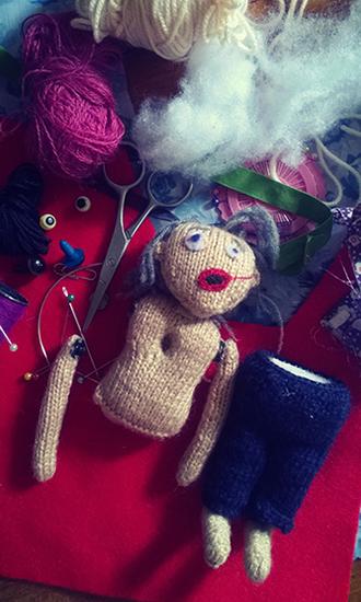 [ Doll, © 2016 Valeria Vitale ]